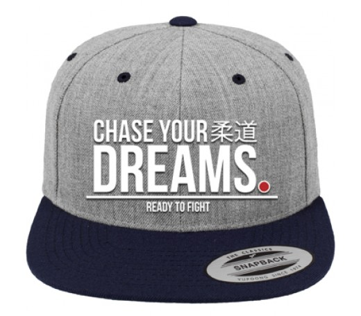 Ippon Gear Dreams Snapback Cap grau/navy